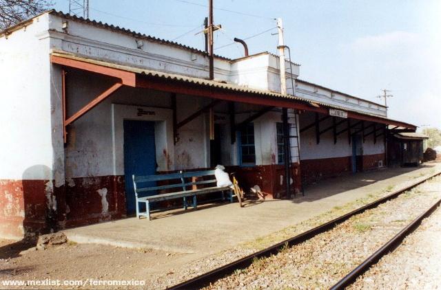 Estaciones mexicanas de ferrocarril las vigas veracruz - Vigas de tren ...