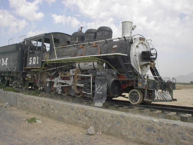 Surviving Steam Locomotives In Coahuila